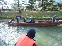 12月11日(日)、市環境課ゴミ拾い 観光和舟練習運航日(草加市の行政で初めて!)