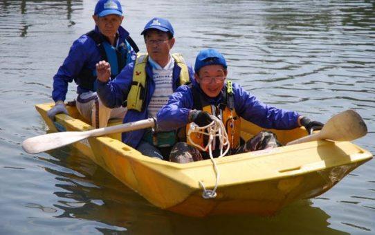 救助艇操船訓練開始 「カヌー教室や水難事故」で活用