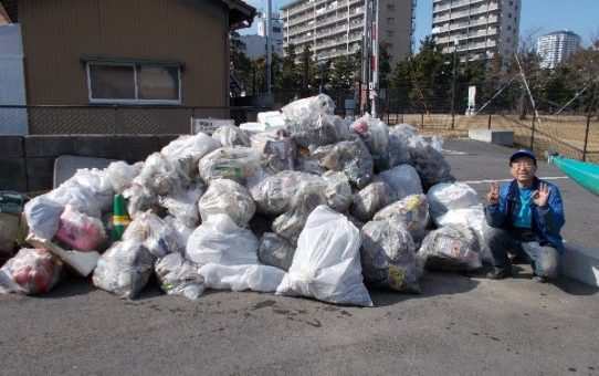 1 月の浮遊ゴミ回収の成果