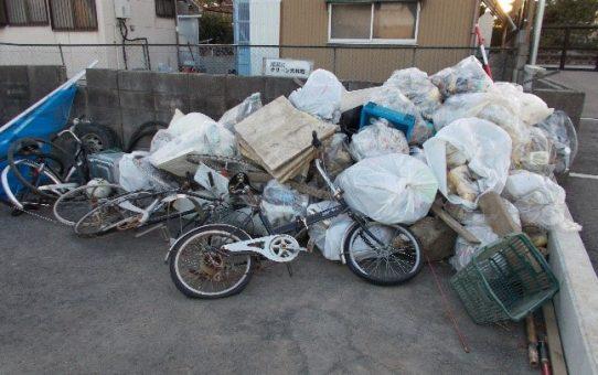 二月の浮遊ゴミ回収の成果