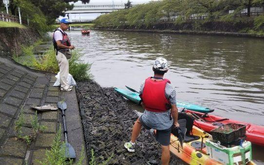 NHK「小さな旅」草加市編の取材