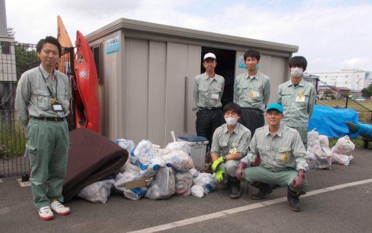 ご協力、ありがとうございます ! 「廃棄物資源課」と連携