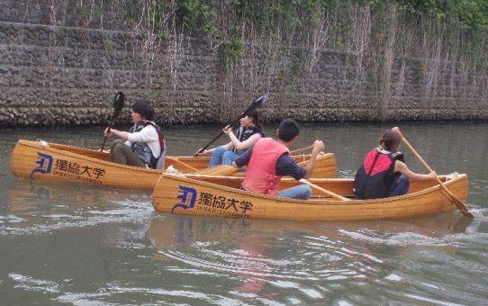 (米山、大竹)ゼミカヌー体験会