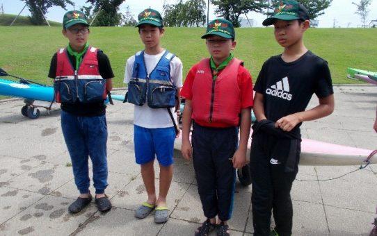 ボーイスカウト草加8団 草加と長瀞、カヌー体験