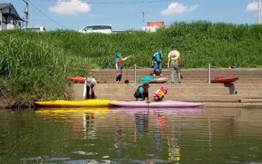 志木市商工会青年部主催 新河岸川「川とあそぶ」下見聞