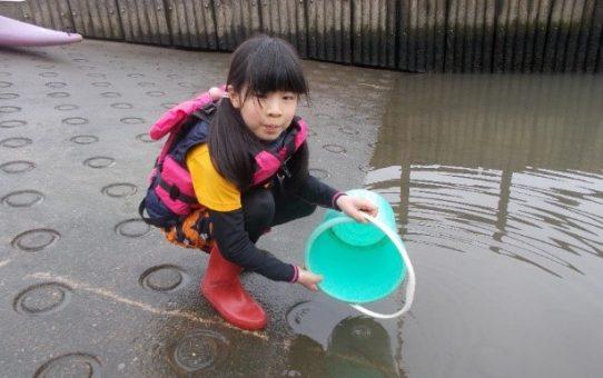 《ホットニュース》   毛長川でシジミ発見 !