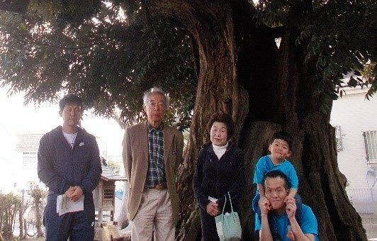 郷土の歴史遺産 「椎ノ木稲荷」を守る