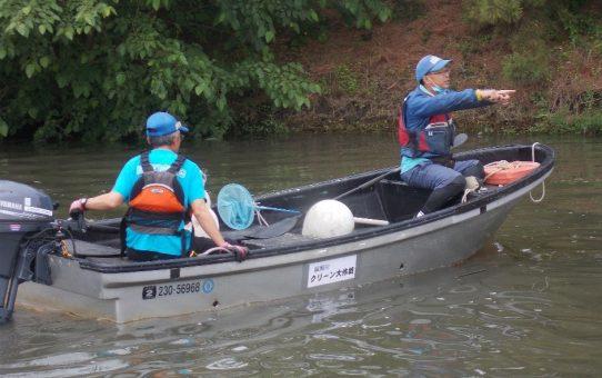 本格的水難救助訓練開始
