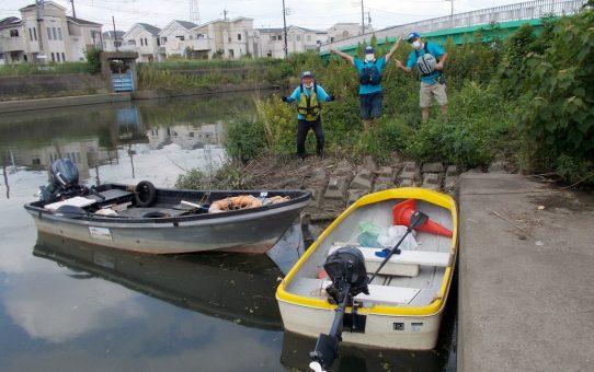 2艇で「人命救助」訓練