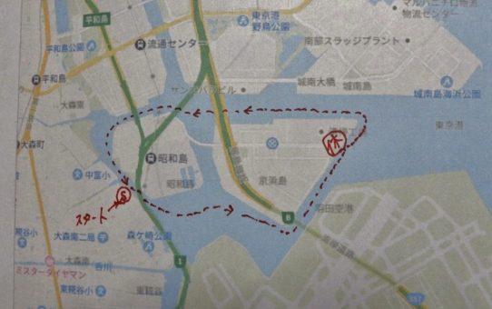 羽田運河/10名で遠征取材