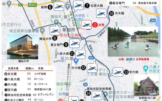 「綾瀬川カヌーで探検2021」