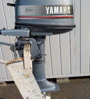 ヤマハ4馬力S脚船外機修理