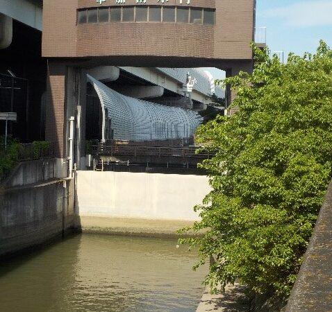 豊かな川づくり(提案) 綾瀬川放水路南北の水門