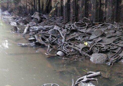 伝右川不法投棄ゴミ回収計画(案) 草加市環境課へ協力依頼