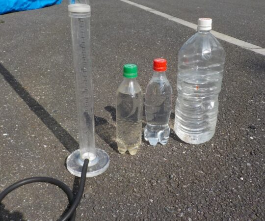 綾瀬川クリーン大作戦 水位と水質の研究(4)