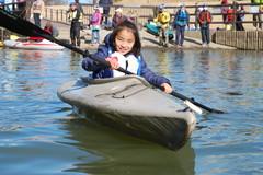 コロボックルくらぶカヌー体験